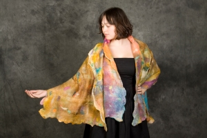 Opera Wrap 3 by Claudia Hoffberg 60x24in